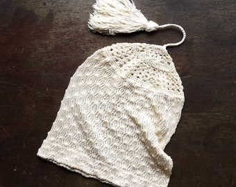 Edwardian Baby Silk Stocking Cap