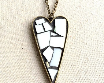 Purity Mosaic Heart Pendant