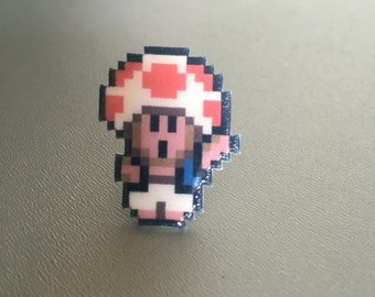 Toad - Wario's Woods / Super Mario pin