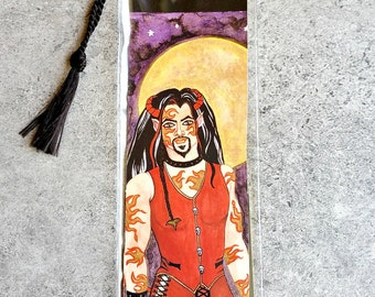 Gay_Male Art Bookmark, Unique Bookmarks, Sexy Man Reader Gifts, Reading, Bookworm Gifts, Book Lover, Bibliophile, Gay Interest, Gothic Art