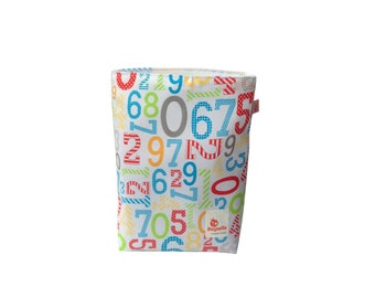 CLEARANCE Reusable Snack Sack | Surprised Numbers