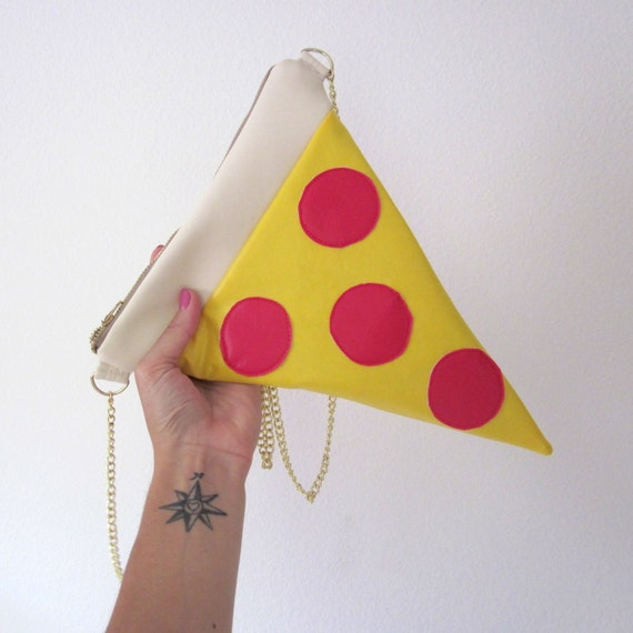 The Original Pizza Purse by Little Light Vintage