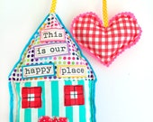 Hang Some Happiness -- Home & Heart Hanger Decor -- This is Our Happy Place