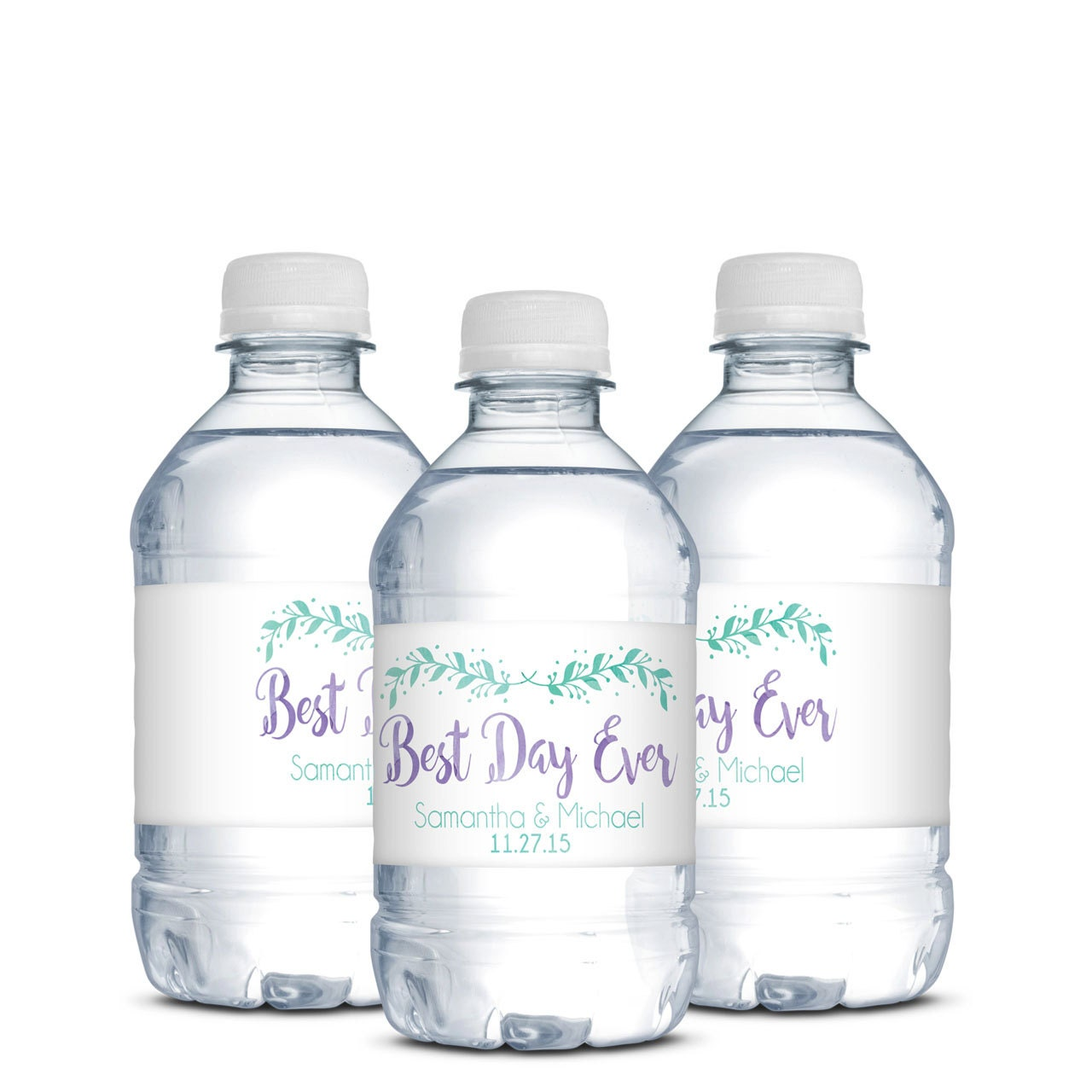 Water Bottle Labels Wedding Welcome Bags Destination