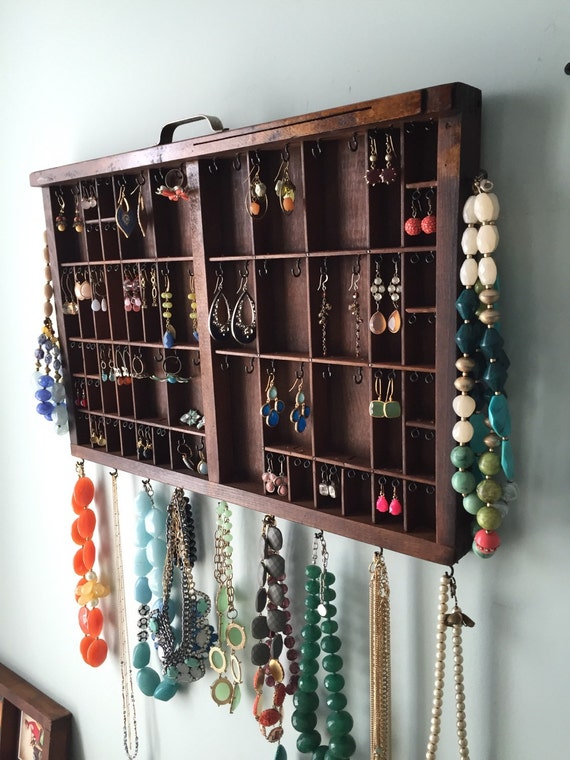 Printer Drawer Jewelry Hanger Medium size
