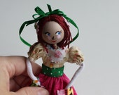 Handmade cloth dolls May Day Maiden Hanging Ornament