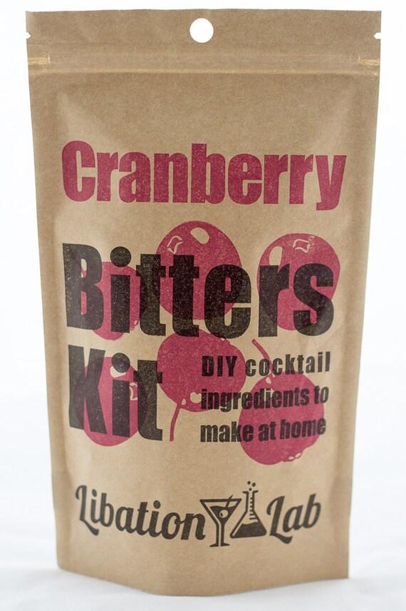 DIY Cocktail Bitters Kit (Cranberry)
