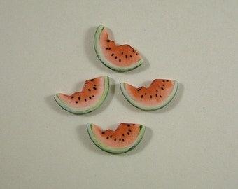 Watermelon Slice Embellishment set of 2