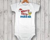 Merry Chrismukkah Onesie/T-Shirt