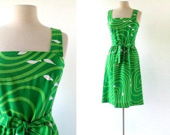 Vintage Malia Dress | Fish Dress | 1970s Dress | XS
