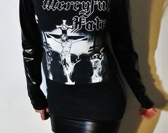 Mercyful Fate Hooded Mini Dress