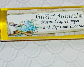 Natural Lip Plumper and Lip Line Smoother, Vegan