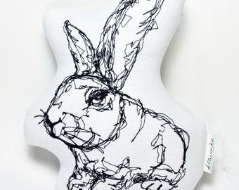 Rabbit Thread Drawing - Softie