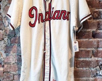 Vintage 60s Indians baseball jersey