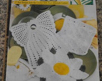 Leisure Arts Book, Contest Favorites Dishcloths,  Crochet Book, Dishcloth Book, Needle Art Book, Kitchen Dishcloth Book, Instruction Book