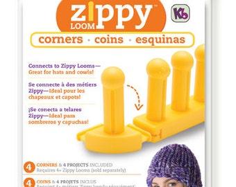 NIP - Zippy Corners - Set of 4 for Use w/Zippy Looms