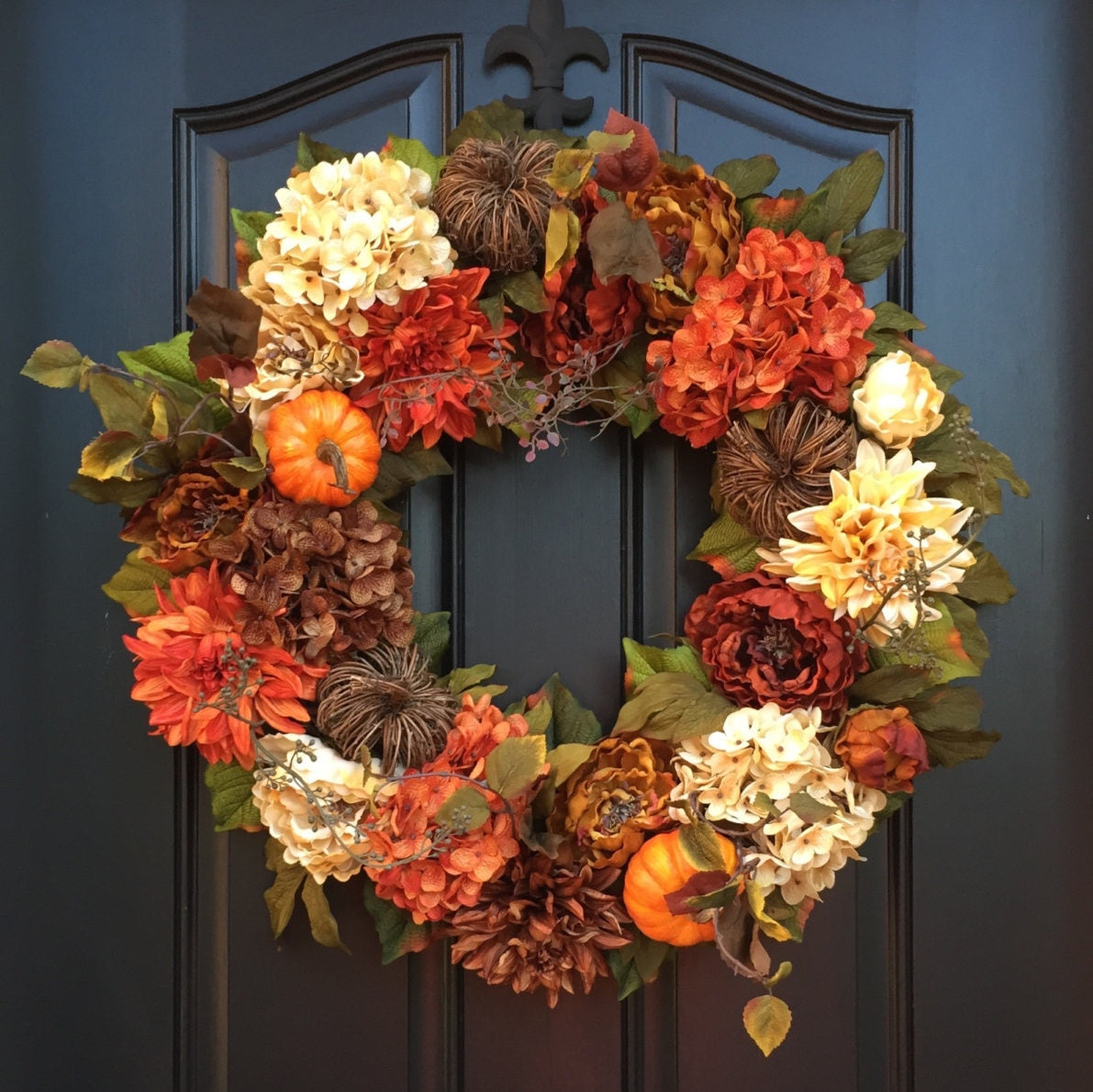 Fall Front Door: FALL WREATH Fall Wreaths For Front Door Fall By Twoinspireyou