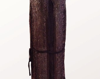 1920s French Made Dress