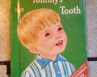 1967 Tommy's Tooth Junior Elf Children's Book