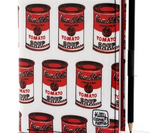 A6 Journal - Andy Warhol's Campbell's Soup Cans