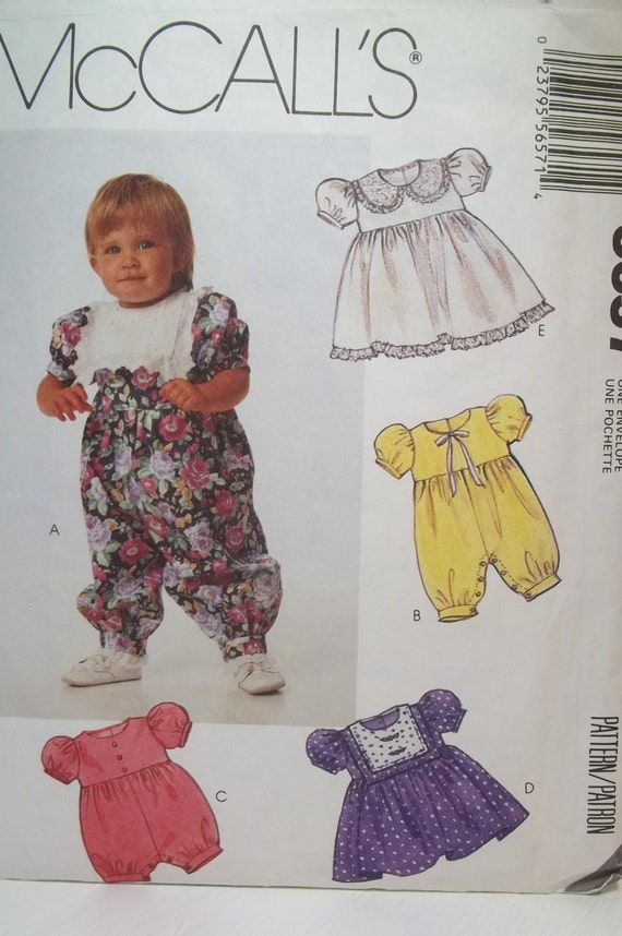 Mccall S Girl S Romper Sewing Pattern 5657 Toddler