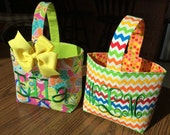 Easy, Quick Treat or Gift Bag: Easter, Holiday, or Holloween Basket Bucket Tutorial Ebook, Instant Download