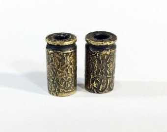 9 mm Bullet Pair, Jewelry Components - Free Domestic Shipping