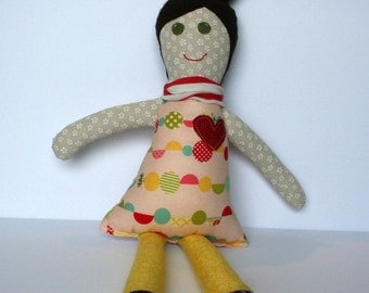 The Sweetest Little Fabric Doll
