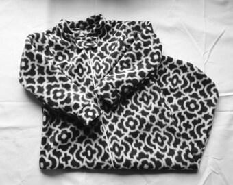 Fleece Long sleeve sleep. Pick your fabric & size. Wearable blanket. Sleepsack.