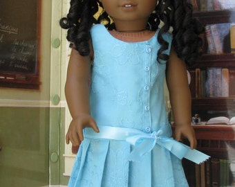 Eighteen Inch Doll 18 Inch Spring Doll Dress Easter Doll Dress Historical
