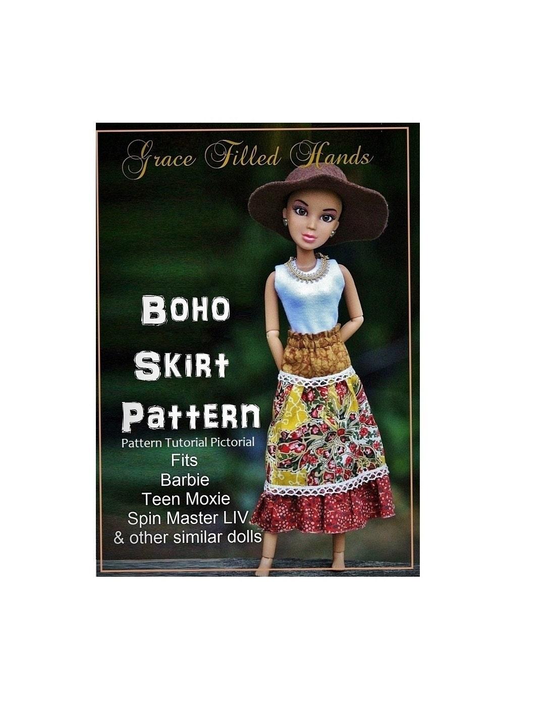 Boho Skirt Pattern 111