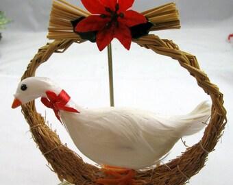 Christmas Goose Ornament 102