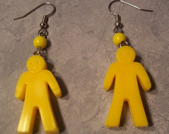 Earrings....Fom Recycled / Re-purposed Materials