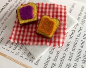 PB & J Sandwich Brooch - Lunchtime Picnic - Best Friends Forever
