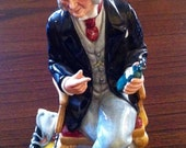 Vintage 1978 Royal Doulton Figurine The Doctor, 1978 HN 2858,Royal Doulton Ceramics, The Doctor by Royal Doulton, **USA ONLY**
