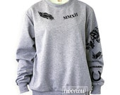 Calum Hood Tattoo Sweatshirt Sweater Crew Neck Shirt– Size S M L XL