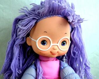 Vintage Hallmark Mattel 1983 Rainbow Brite Doll - Shy Violet