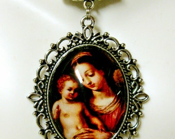 Madonna and child necklace - AP09-096