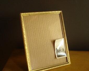 Simple Frame - Empty Brass Frame - Vintage Picture Frame - Unique Design