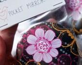 Big Blooms Pocket Mirror