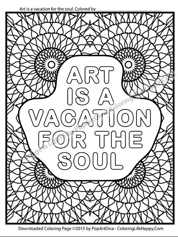 Items similar to ART Is A Vacation