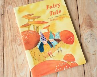 04 Fairy Tale cartoon flower elves notebook