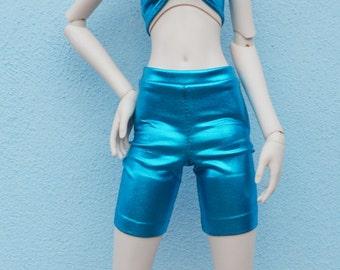 BJD turqoise look surface shorts sd, msd, yosd various sizes