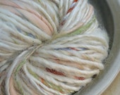 RESERVED FOR MARINA: Tasmanian Leicester Longwool hand spun yarn. 6.7 oz; 102 feet
