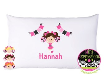 cheerleader Personalized PillowCase You Pink your Cheerleader