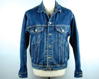 Levi's Type 3 Denim Jacket, Levi's Trucker Jacket, Levi's Type III Denim Jacket, Size Small