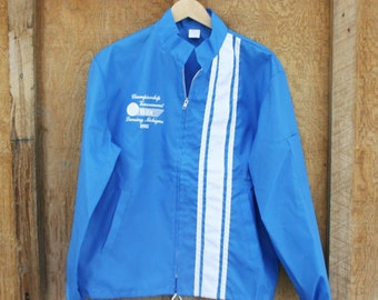 Vintage 1992 Bowling Jacket - Lansing, Michigan - XL