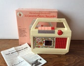 Strawberry Shortcake Cassette Player Recorder