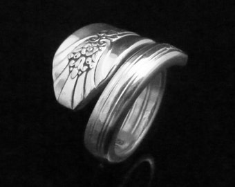 Floral Spoon Ring, Imperial 1939