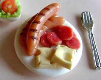 Dollshouse Food , miniatures dollshouse